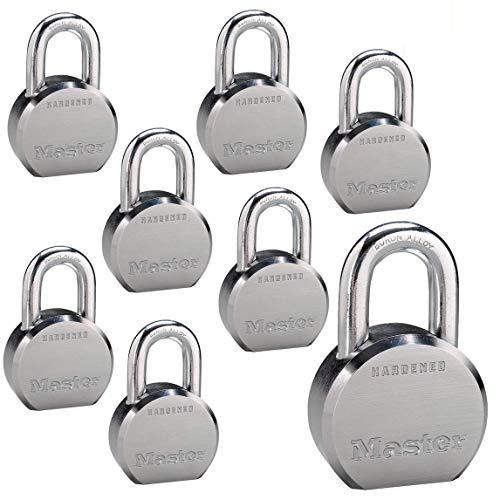 Master Lock - (8) High Security Pro Series Keyed Alike Padlocks 6230NKA-8 w/BumpStop Technology
