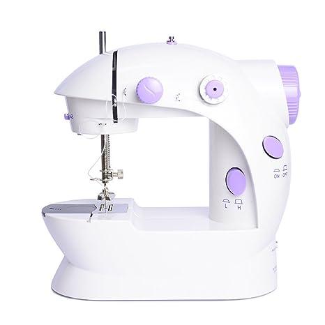 Electric Multi-function Portable Mini Desktop Sewing Machine Handheld Kit UK