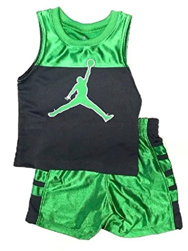 3055948daca8 Galleon - Nike Air Jordan Baby Tank-Top & Short, Size 6/9 Months
