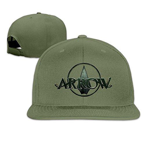 Men's Unisex Green Arrow-Emerald Archer Rock Cap Summer Baseball Hats (Green Arrow Suit)