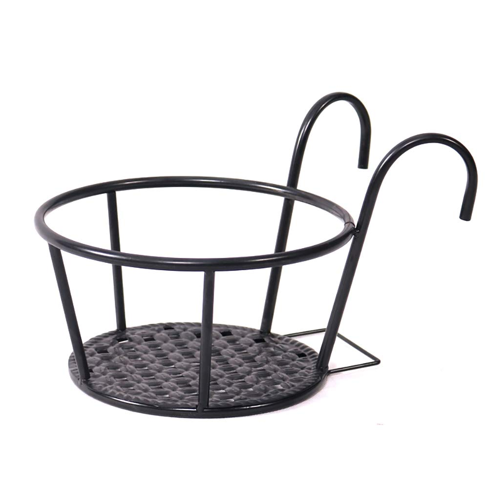Amazon.com: JIAOHJ Plant Stand, Hanging Flower Stand Hanger Railing, Window Balcony Railing Indoor and Outdoor, 3 Pieces,Brass: Home & Kitchen
