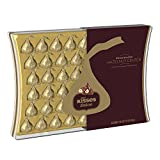 KISSES DELUXE Chocolates Gift Box, 50 Count