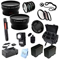 Advanced Professional Kit: for Canon XF100 and XF105 HD Professional Camcorder