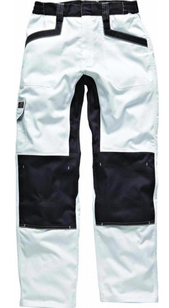 IN1001 Dickies PERCHE-52 Pantaloni Industria 260 bianco//grigio