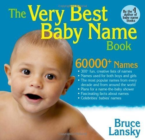 Baby Name Very Book Best (The Very Best Baby Name Book of Lansky, Bruce 1st (first) Edition on 18 September 2012)
