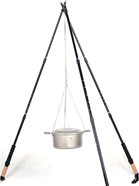 Keith Ti1600 Titanium Hanging Chain Camping Cookware Hanging Chain 38g