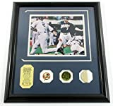 Derek Jeter Game Used Collection Photo Bat Coin Pin Highland Mint DF024957 - MLB Game Used Bats