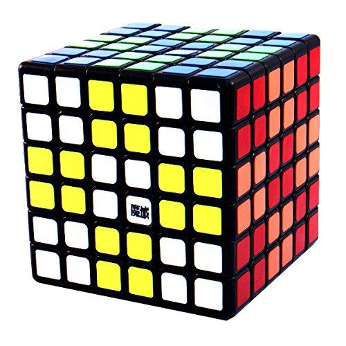 6x6x6 YJ Moyu Aoshi Black Speed Puzzle Cube Smooth Twisty Toy 6x6