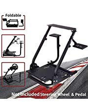 Hottoby Wheel Stand G920 Racing Wheel Stand Pro for Logitech G25 G27 G29 G920 Racing Wheel Shifter and Pedals NOT Included (2 shift levers)