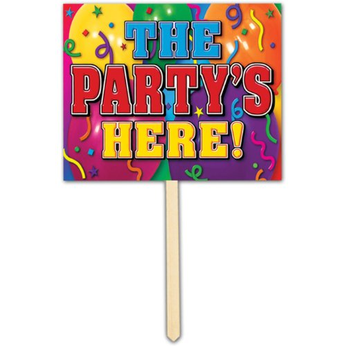 Partys Here Party Accessory count