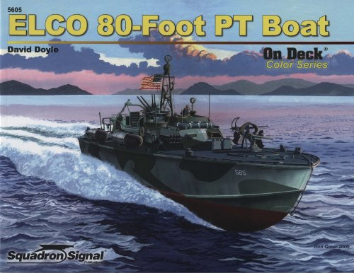 ELCO 80 PT Boat - On Deck Color Series No. 5