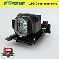 Emazne DT01431 Projector Replacement Compatible Lamp With Housing For Hitachi CP-EW301N CP-EW302 CP-EX251N CP-EX252N CP-EX301N CP-EX401 CP-WX3030 CP-WX3030WN Dukane ImagePro 8928A Imagepro 8931WA