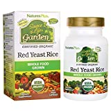 Nature's Plus Sol Garden Red Yeast Rice 600mg Caps 60, 0.35 Pound