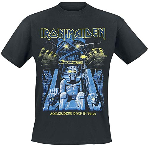 Maiden Nero T Time shirt Back In Iron Mummy 80Nvmnw