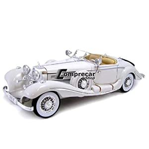 Maisto 1936 M-B 500 K Type Specialroadster Diecast Vehicle Review