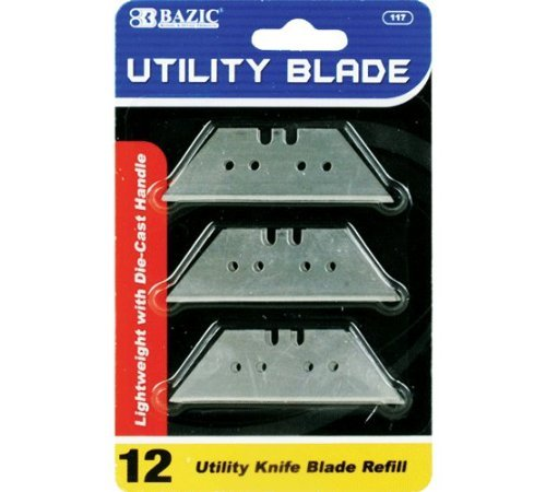 BAZIC Utility Knife Replacement Blade (12/Pack), Case Pack of 360
