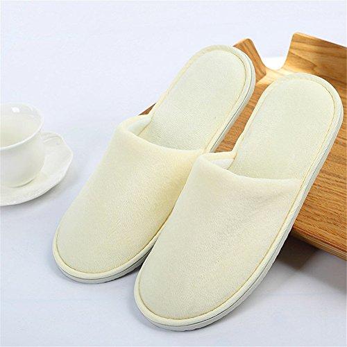 d'orteil slippers fermé résistantes Pantoufles dérapantes C SPA anti d'hôtel d'invité chaussures SPA jetables avvdw