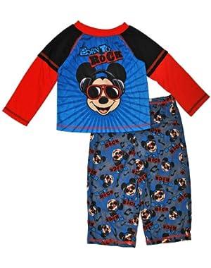 Boys Mickey Pajama Set