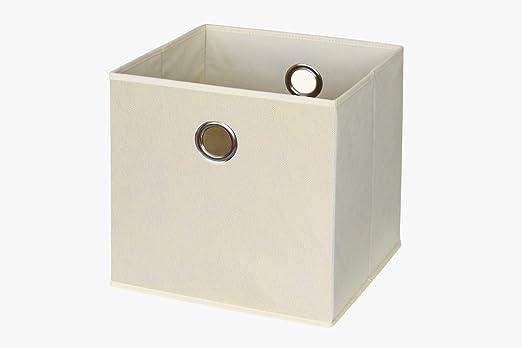 Ikea Kallax/Expedit. Caja en beige: Amazon.es: Juguetes y juegos