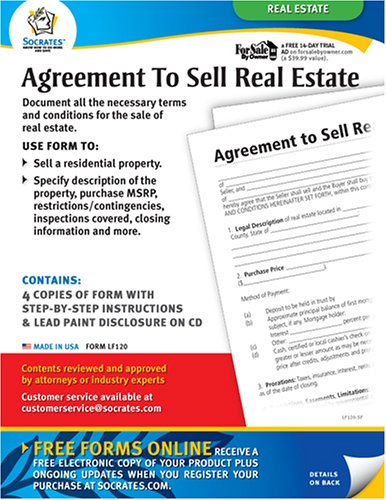 Agreement To Sell Real Estate (Agreement To Sell Real Estate)