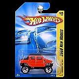 Hot Wheels 2008 New Models Hummer H2 SUT in Orange Red