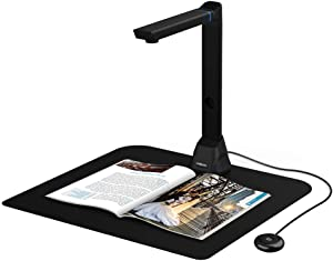 VIISAN Document Camera Mac Compatible 16MP High Definition Portable Scanner for Teacher Capture Size A3 Multi-Language OCR and English Article Recognition
