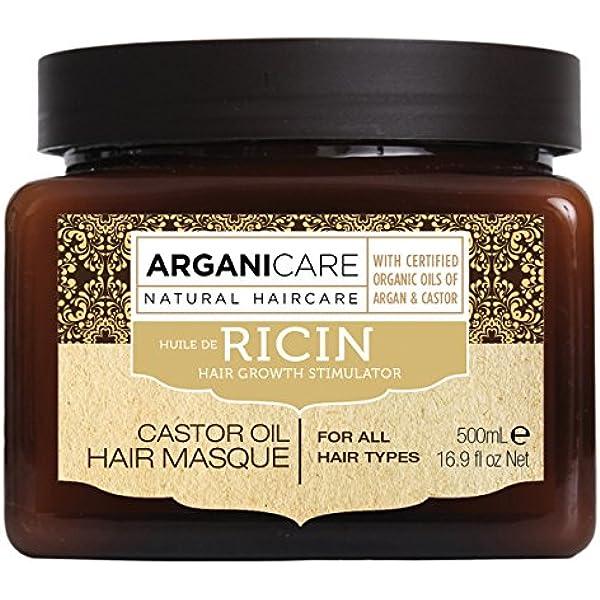 arganicare agn038 máscara Argan/ricino 500 ml: Amazon.es: Belleza