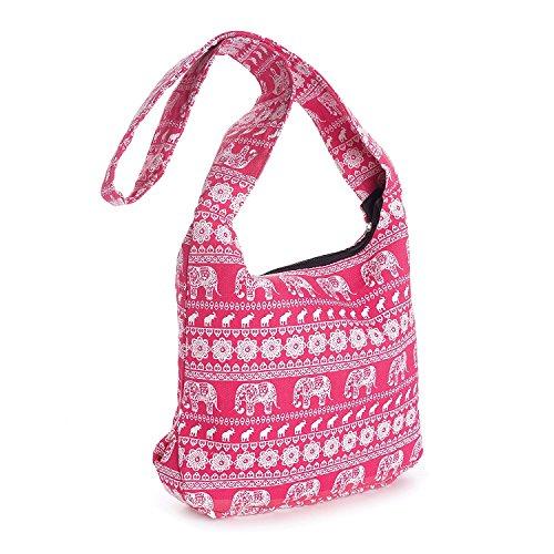 and Print à femme Allaccessories flag Pink porter Sac Jack Pink Union Elephant White à l'épaule pour wqw7xCnZAX