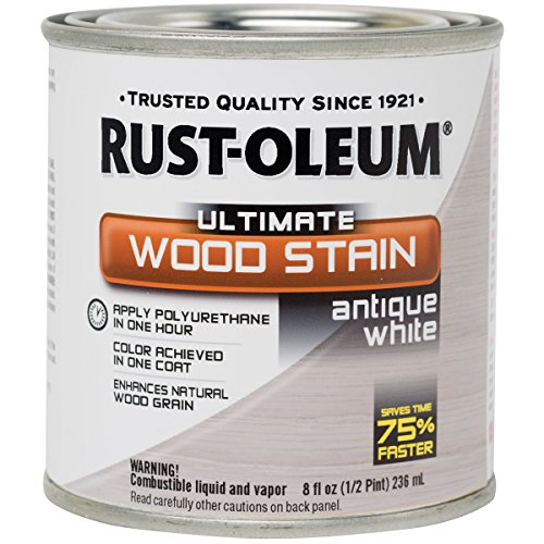 Ultimate Wood Stain 8oz Antique White