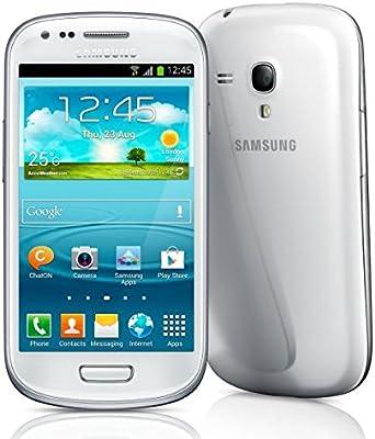 Samsung Galaxy S3 Mini GT de i8200 N Marble White Blanco Smartphone libre: Amazon.es: Electrónica