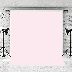 Kate 10x10ft Pure Pink Backdrop Light Pink Solid Color Background Cotton Collapsible Photo Studio Props
