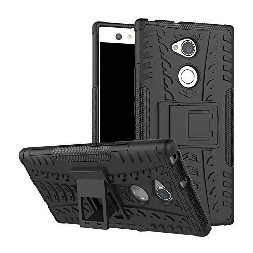 Slim Armor TPU/PC Cover Case for Sony Xperia X (Black) - 8