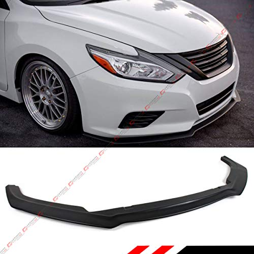 - Fits for 2016-2018 Nissan Altima 4 Door Sedan S Style VIP JDM Front Bumper Chin Lip Splitter