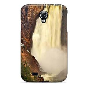 New Arrival Yellowstone Waterfall VKzLZ8940Dlnzj Case Cover/ S4 Galaxy Case