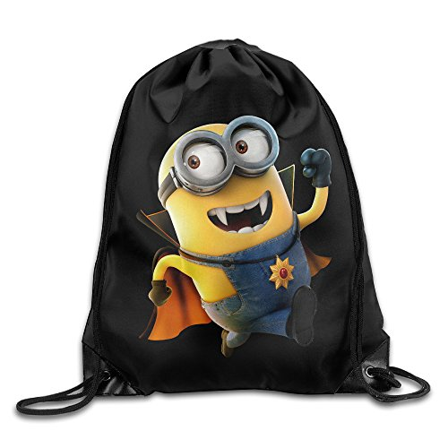 [Creative Design Funny Halloween Minions Drawstring Backpack Sport Bag For Men And Women] (Icarly Halloween)