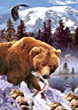 Grizzly Bear a 1000-Piece Jigsaw Puzzle by Sunsout Inc.