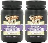 Barlean's Organic Oils Organic Evening Primrose Oil, 120 Softgels (2 Pack)