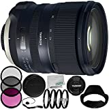 Tamron SP 24-70mm f/2.8 Di VC USD G2 Lens for Nikon F 8PC Accessory Bundle – Includes Manufacturer Accessories + 3PC Filter Kit (UV + CPL + FLD) + MORE- International Version (No Warranty)