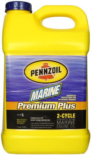 Pennzoil 3897 Marine Premium Plus Outboard 2-cycle Engine Oil - 2.5 Gallon