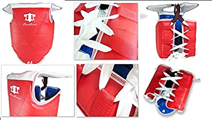 Female Five-piece set taekwondo Protect Gear Thicken Adult and Children Taekwondo brace