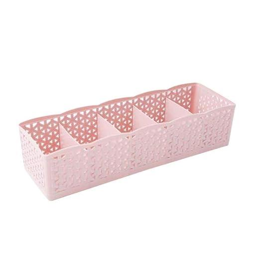 HAHAJY 5 UNIDS 5 Celdas Organizador de plástico Caja de ...