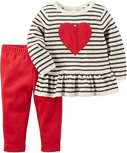 Kids Valentines Outfits (Carter's Valentines Day Heart Sweater 3)
