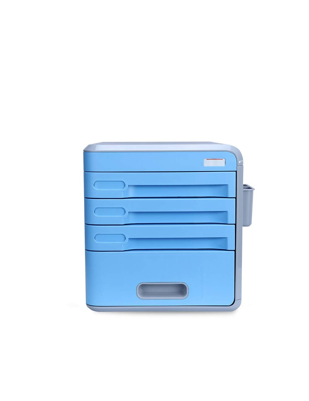 File Cabinet Office Desktop Drawer Type File Manager Stationery Cabinet 4th Floor A4 Plastic Data Cabinet Storage Box Storage Filing cabinets