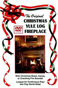 The Original Christmas Yule Log Fireplace
