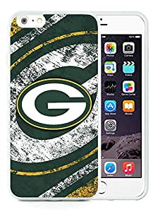 Popular iPhone 6 Plus 5.5 Inch Case ,Unique And Lovely Designed With Green Bay Packers White iPhone 6 Plus 5.5 Inch High Quality Cover