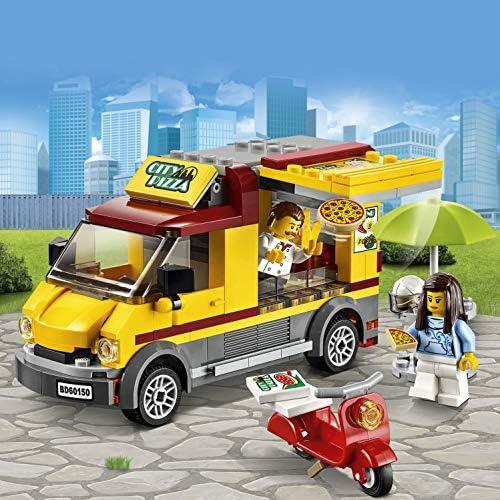 LEGO City 60150 - Pizzawagen, Bauspielzeug