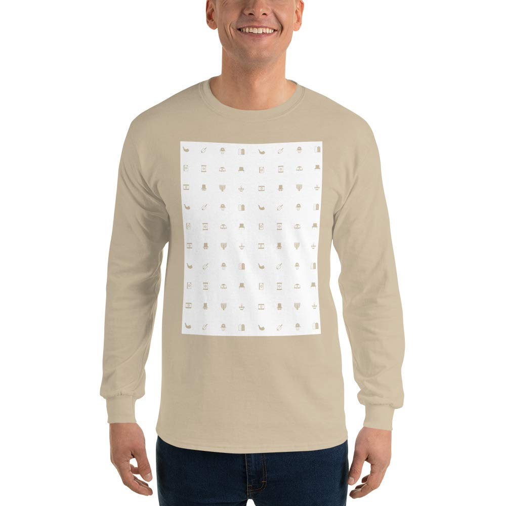 Spicy Cold Apparel Multiple Designs Mens Ultra 100/% Cotton Long Sleeve T-Shirt 2400