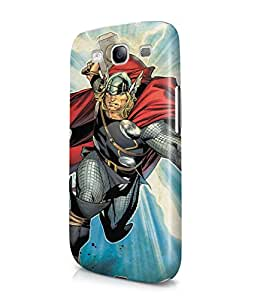 Thor God Of Thunder The Avengers Superhero Comics Plastic Snap-On Case Cover Shell For Samsung Galaxy S3