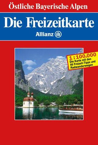 Die Freizeitkarte Allianz, Bl.37, Östliche Bayerische Alpen