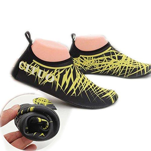 Queshark Diving Socks Snorkeling Boots Non-slip Swimming Seaside Beach Shoes M